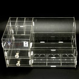 Wholesale Black Wire Storage - Demon Killer Storage Box Display Showcase Stand Shelf Holder Acrylic Material Black Clear Colors L Size For Coil Wire RDA Bottles Vape DHL