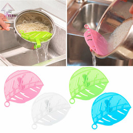 Wholesale Tea Board - Wash Rice Colanders & Strainers Multifunctional Snap Filter Plate Fruits Vegetables And Noodles Washing Draining Treatment Board