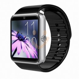 Wholesale Connect Retail - 2016 Bluetooth Sport Smart Watch GT 08 for iPhone IOS Android Phone Wear Clock Connect Watch Wearable Device Smart watch With Retail Box