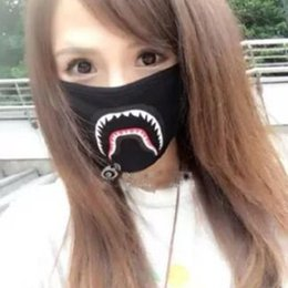 Wholesale Animals Mask - New breathing mask Camo Mask Black Cosplay Mouth Masks with three colors DHL free shipping