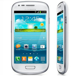"Wholesale S3 Front - Original Samsung Galaxy S3 mini I8190 Phone Dual-core 4.0""Touch 5MP Camera 8GB ROM 3G WIFI GPS Unlocked Refurbished Mobile phone"