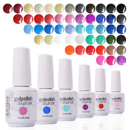 Wholesale Soak Off Liquid - Wholesale-15ml French Nails Arte Clavo Gelplish Any 1 Color Nail Lacquer UV Led Gel Lamp UV Color Soak Off Gel Polish Nail Art Liquid