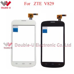 Wholesale Replacement Touch Screen Panel Zte - 5pcs lot Wholesale Original Quality For ZTE Blade V829 Touch Screen and Touch Panel Glass Digitizer Replacement with Free Shipping