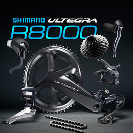 Wholesale Road Bike Aluminum - shimano ultegra R8000 50 34 T 53 59 T 165 170   172.5 2 * 11 22 Bicycle speed cycling groupset Bicycle Parts