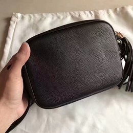 Wholesale Top Brand Ladies Handbags - Genuine Leather Messenger Bag Women Handbag Lady for cellphone wallet cash cards make up brand designer luxury famous top quality G260