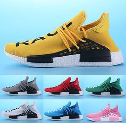 Wholesale Cheap Casual Boots For Men - New 2017 Pharrell Williams X NMD Human Race Running Shoes NMD Runner cheap top quality Trainers casual Sneakers Boots Size 36-45 for sale