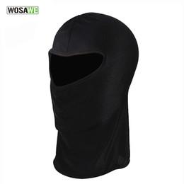 Wholesale Mask For Motor - WOSAWE Ultra Thin Ski CS Face Mask Hood Helmet Balaclava Hat Headwear For Motor Bike Anti UV Quick Dry Cycling Cap BC300
