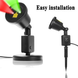 Wholesale Stage Laser Star Projector - Outdoor Laser Lights 7W Red & Green 2 in 1 Dynamic Lighting Star Projector Laser Spotlight Light Waterproof for Home Garden Lands