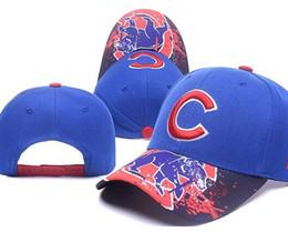 Wholesale Peak Cap Visor - 2017 MLB Chicago Cubs Baseball Caps World Series Hats Benaies Cap Snapback Casquette Visor Hat Pouplar Fashion Hip Hop Blue Cubs Peaked cap