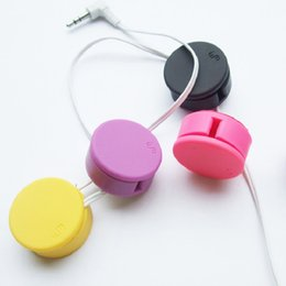 Wholesale Earphone Cleaner - 2 in 1 earphone cable winder and screen cleaner rubber made bobbin winder for cables and Flannelette clean cloth for cell phone ipad PC