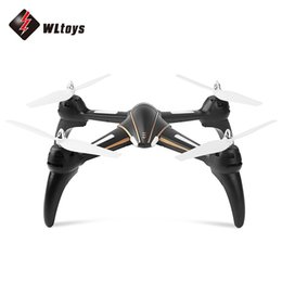 Wholesale Wltoys Rtf - WLtoys Q393 Q393A 6-axis Gyro Air Press Altitude Hold Wifi FPV with 720P Camera RC Quadcopter RTF 2.4GHz 5.8G FPV 2MP Camera Drones HOT +B