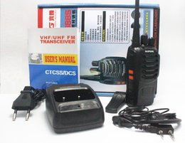 Wholesale Cheap Baofeng Radio - Wholesale Cheap Walkie Talkie BF-888s 5W 16CH UHF 400-470MHz BF-888S Interphone BaoFeng 888S Two Way Radio