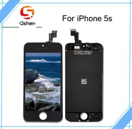 Wholesale Iphone Copy Parts - For iPhone 5 5s 5c Lcd Touch Screen Display Assembly Digitizer with Complete Replacement Repair Parts + High Copy