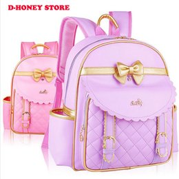 Wholesale Cartoon Baby Girls Bag - Girls Kindergarten Children Schoolbag Princess Cartoon Backpack Baby Girls School Bags Kids Baby Backpack free shipping