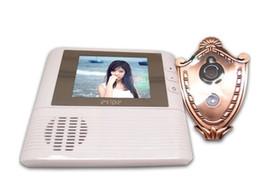 Wholesale Security Camera Peepholes - 2.8 inch Lcd digital Door Camera Doorbell peephole Door viewer eye Home Security Camera Cam door bell 3X Zoom