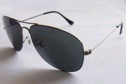 Wholesale Frog Custom - The charm of fashion brand frog mirror metal sunglasses coating pilot custom glass light proof sheet drive Retro Sunglasses