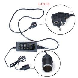 Wholesale Home Power Inverter - Car Cigarette Lighter Power Inverter Car Adapter Inverter 60W AC 220V to DC 12V 5A Home using Too