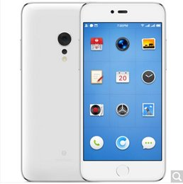Wholesale Dual Sim Android Os - Smartisan OS M1L (SM919) 6GB +64GB   4GB + 32GB stainless steel frame full net through gold white optional