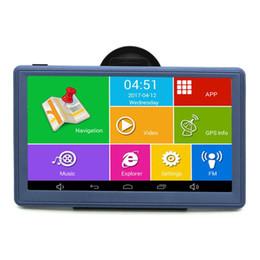 Wholesale United Core - Android 7 inch Car GPS Navigation Navigator WIFI Bluetooth AVIN Quad-core Truck Vehicle GPS Navitel Russia Europe 8GB Free Maps