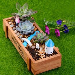 Wholesale Wholesale Planters Box - 5XNew Wood Planter Box Garden Yard Rectangle Flower Succulent Container Plant Pot