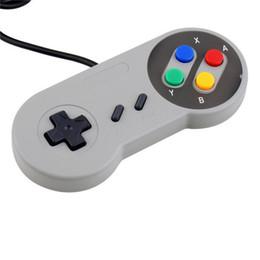 Super joystick online-Retro Classic Snes usb Controller PC Controladores Gamepad Joystick Replacement para android Super for S NES Windows