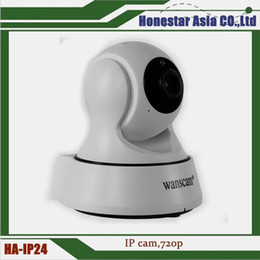 Wholesale Wholesale Wanscam Ip Camera - Two-way audio wifi wireless camera indoor ip camera Wanscam P2P HD 720P Wireless WiFi Pan Tilt Network IP Camera