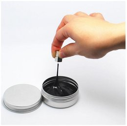 Wholesale Magnetic Rubber - Magnetic Rubber Mud Hand Gum Silly Putty Magnet Clay Plasticine Ferrofluid Handmade DIY Playdough Adult Toys Kids Gifts Mixed Colors