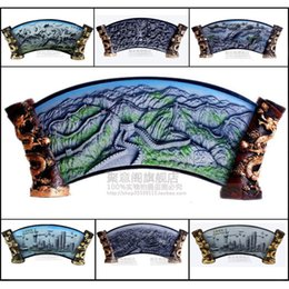 Wholesale Large Craft Bags - Large the Great Wall relief decoration Crafts Ornament Home Furnishing send leadership foreign friends gifts