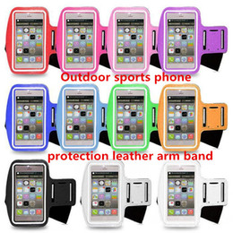 Wholesale Arm Pocket Armband - For Iphone7 Waterproof Sports Running Case Armband Running bag Workout Armband Holder Pounch For Samsung HTC Cell Mobile Phone Arm Bag Band