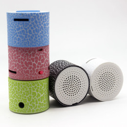 Wholesale Small Speaker Boxes - Wholesale- wholesale Mini Portable Speaker Multimedia Small Speaker Bests Stereo mp3 music Speakers