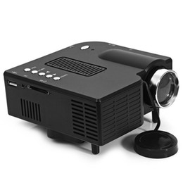 Wholesale Ps Mini - Wholesale-Factory Supply Cheap Price Handy HDMI USB Projector Built In Speaker Mini HDMI Beamer Work For PS Game Home Entertainment