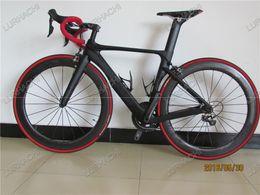 Wholesale Carbon Group - HQR18 OEM Hidden Brake bike,best selling road carbon bike,carbon frame+carbon handlebar+80mm carbon wheels+6800 group