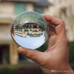 Wholesale antique japanese box - Transparent crystal ball photography personality Decoration Feng Shuiqiu Lucky decorative arts and crafts modern living room display white b