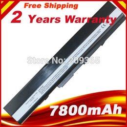 Wholesale Asus K42 Battery - Wholesale-7800 mAh Battery For ASUS X52D X52DE X52DR X52F X52J X52JB X52JC X52JE X52JG X52JK X52JR X52N A32-K52 A32-K42