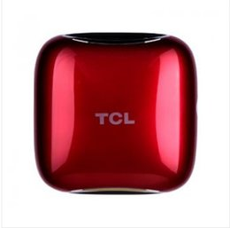 Wholesale Quiet Air - TCL Car Air Purifier (red) 3-layer high efficiency filter ultra-quiet mode car oxygen bar Free Shipping