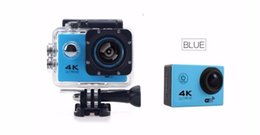 "Wholesale Sport Helmet Action Camera - 4K Action camera F60 Allwinner 4K 30fps 1080P sport WiFi 2.0"" 170D Helmet Cam underwater go waterproof pro camera 20pcs"