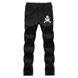 Wholesale Thick Sweatpants - Wholesale- Autumn Winter thick fleece jogger men Iron Maiden pattern pants brand clothing high quality warm male sweatpants casual trousers
