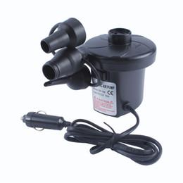 3800Pa электрический воздушный насос 380 л / мин для надувной надувной надувной надувной надувной надувной надувной надувной надувной матрас 12 В постоянного тока от