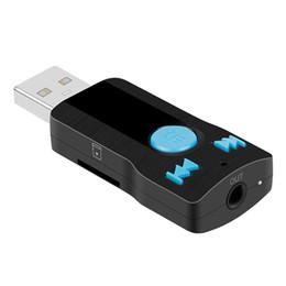 mp3-плеер 1g Скидка Мини USB беспроводной 3.0 Bluetooth музыкальный приемник 3.5 мм аудио адаптер автомобиля aux динамик рецептор для Iphone