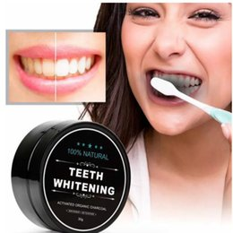 Wholesale Dental Kits Wholesale - 2017 new Activated Charcoal Teeth Whitening Powder charcoal High Quality Dental Whitelight Tooth Whiter 24pcs teeth