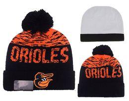 Wholesale Retro Sports Hats - NEW HOT Sport BALTIMORE Baseball Club Beanies Team Hat Winter Caps Popular Beanie Kid RIPKEN MACHADO JONES RETRO
