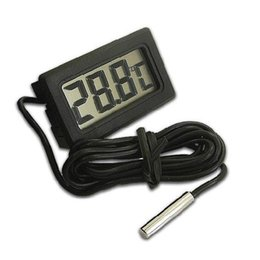 Wholesale Household Measures - Embedded Thermometer Electronic Digital Water Proof Measure Below Zero LCD Display With Probe Household Tool Hot Sale 3 7ys F