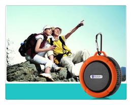 C6 IPX7 sport all'aria aperta portatile impermeabile altoparlante senza fili Bluetooth ventosa vivavoce casella vocale mic per iphone smartphone da bandiera usb fornitori
