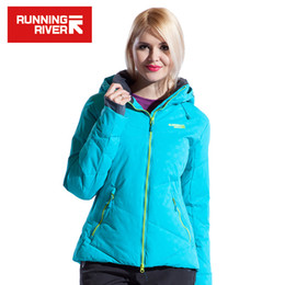 Wholesale Running Jacket Women Waterproof - Wholesale- Running River Brand Women Ski Jacket S - XXXL Size 4 Colors Snow Thermal Jackets For Woman Winter Outdoor Sports Jacket #L4973