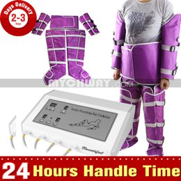 Wholesale Drainage Lymph Machine - Air Pressure Lymph Drainage Slimming Suit Pressotherapy Body Fat Slimming Blanket Whole Body Contouring Machine Beauty SPA