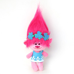 Wholesale Troll Wholesale - 4 Styles 23cm 35cm Trolls Plush Toy Poppy Branch Doll Cartoon Movie Stuffed Dolls Gifts For Kids