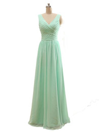 Wholesale Cheap Purple Bridesmaids Long Dresses - Cheap Mint Green Chiffon A Line Sweetheart Pleated Bridesmaid Dresses Long 2017 Cheap Bridesmaid Dresses Under 50