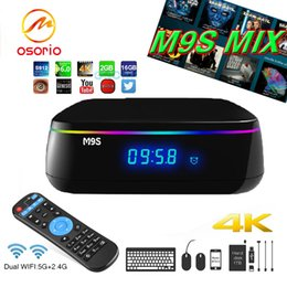 Canada M9S Mix Digital TV Box Android 6.0 S912 Boites Octa Core 2 Go 16 Go 16,1 Wifi 2,4 GHz 5 GHz Bluetooth 4.0 KD16.1 Media Streaming Box 1000M NET Offre