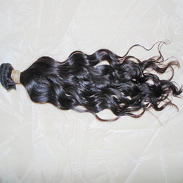 Wholesale Processed Weave Remy - Amazing Weave Shop 3 bundles Virgin Raw Indian Natural Wave Hair Weave Not process Grade 8A