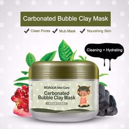 Wholesale Oxygen Whitening - Carbonated Bubble Clay Mask Whitening Oxygen Mud Moisturizing Deep Clean Piggy Carbonated Oxygen 100g Remove Blackhead Deep CleansingOOA2144